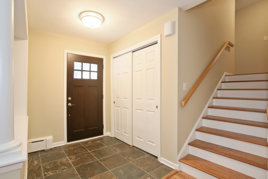 Real Estate Photography - 441 Bunning, Downers Grove, IL, 60516 - Foyer
