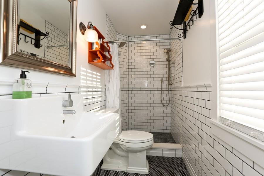 Real Estate Photography - 467 Carleton, Glen Ellyn, IL, 60137 - Master Bathroom
