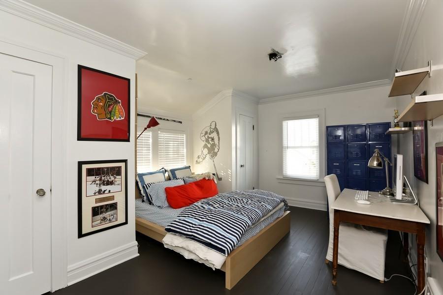 Real Estate Photography - 467 Carleton, Glen Ellyn, IL, 60137 - 3rd Bedroom
