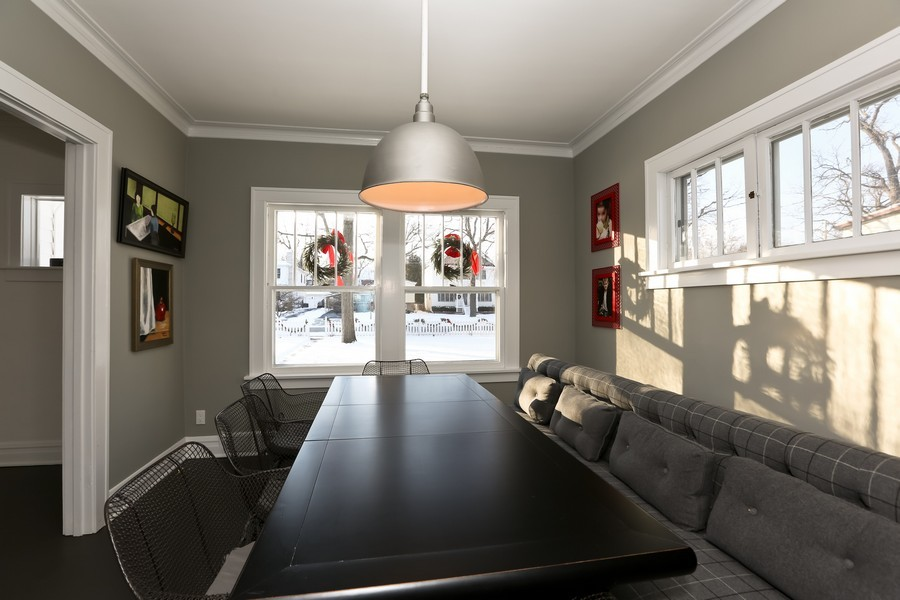 Real Estate Photography - 467 Carleton, Glen Ellyn, IL, 60137 - Dining Room