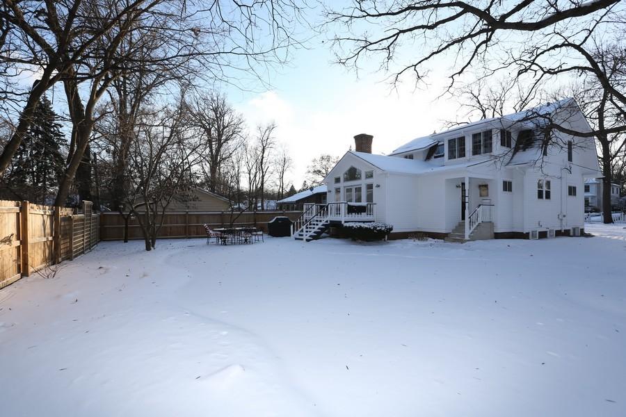 Real Estate Photography - 467 Carleton, Glen Ellyn, IL, 60137 - Rear View