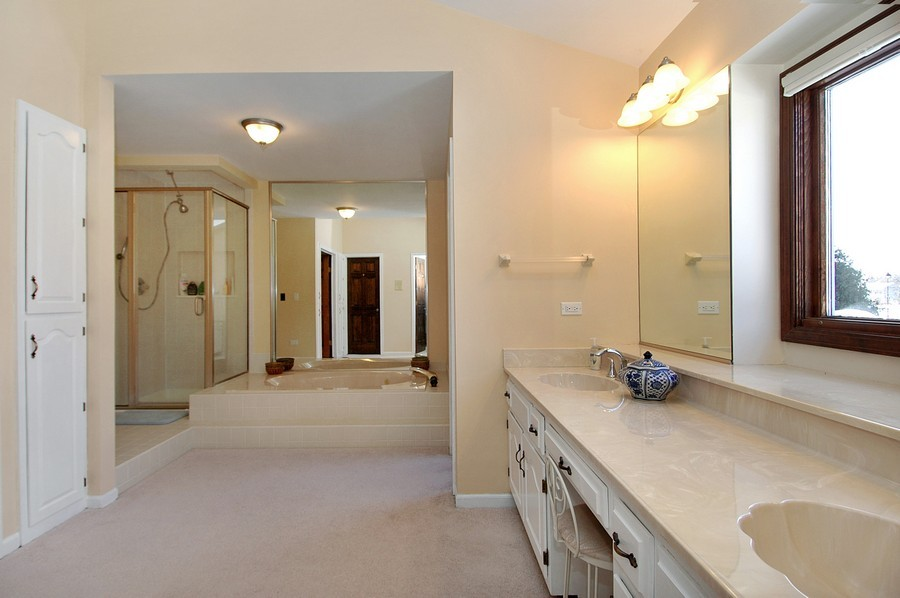 Real Estate Photography - 190 Tall Trees Drive, Barrington, IL, 60010 - Master Bathroom