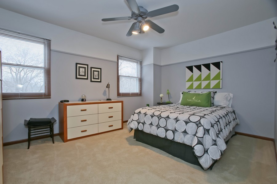 Real Estate Photography - 5828 Plymouth St, Downers Grove, IL, 60516 - Bedroom