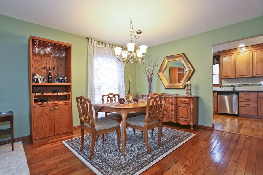 Real Estate Photography - 5828 Plymouth St, Downers Grove, IL, 60516 - Dining Room