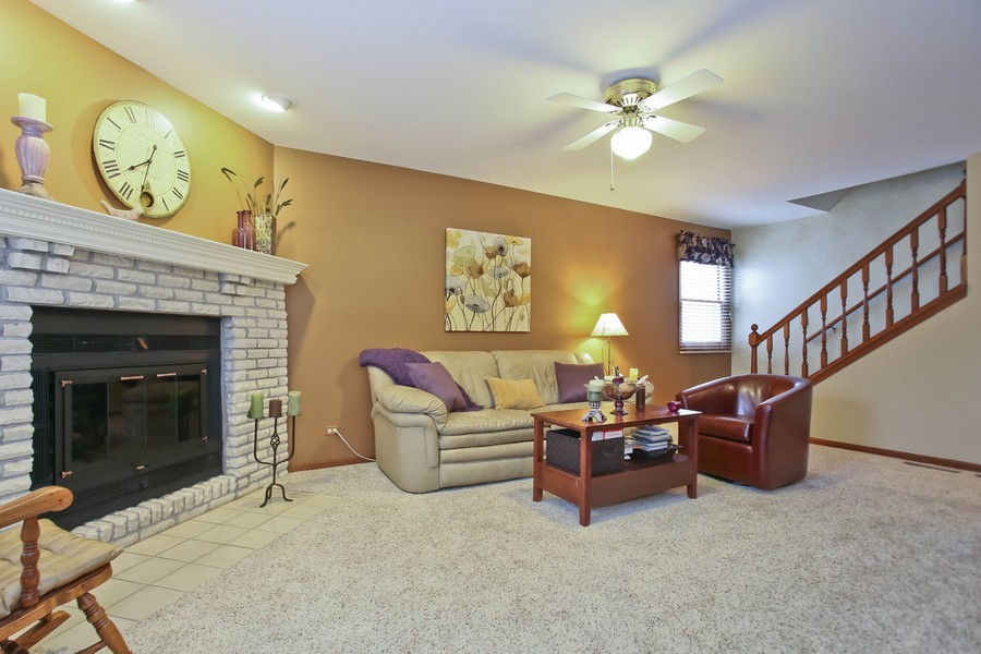 Real Estate Photography - 5828 Plymouth St, Downers Grove, IL, 60516 - Family Room