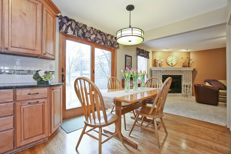 Real Estate Photography - 5828 Plymouth St, Downers Grove, IL, 60516 - Breakfast Area