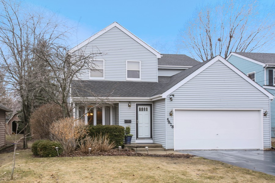 Real Estate Photography - 5828 Plymouth St, Downers Grove, IL, 60516 - Front View
