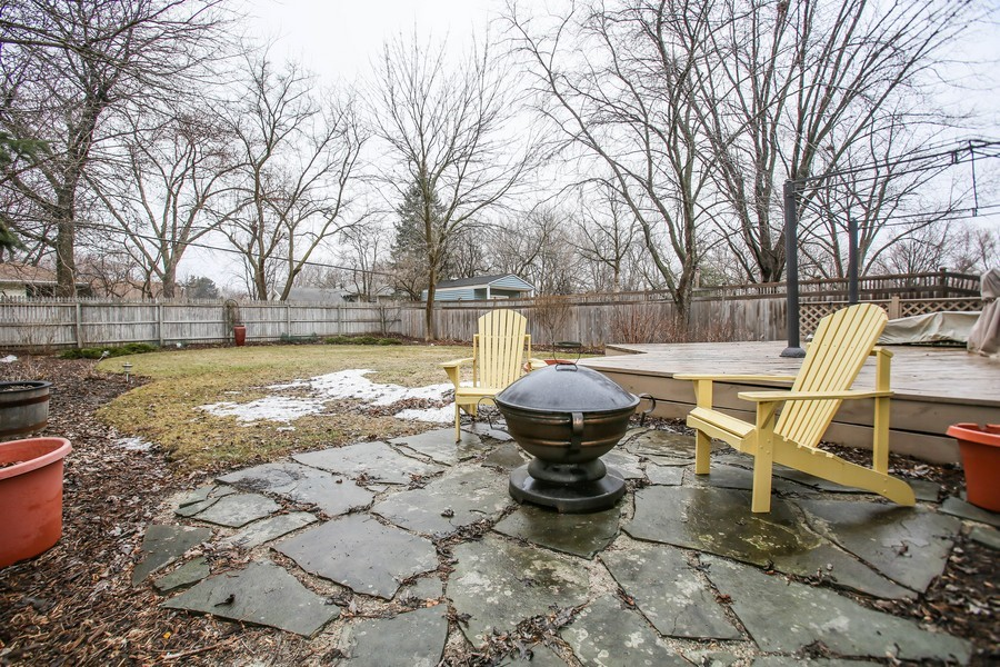 Real Estate Photography - 5828 Plymouth St, Downers Grove, IL, 60516 - Rear View