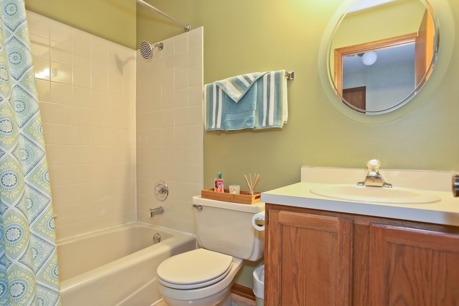 Real Estate Photography - 5828 Plymouth St, Downers Grove, IL, 60516 - Bathroom
