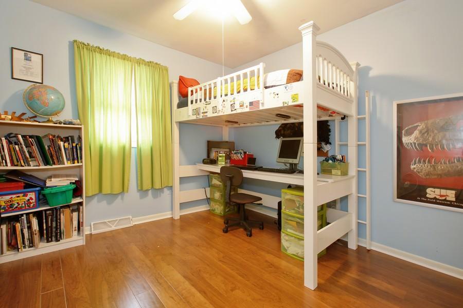 Real Estate Photography - 312 Spring Road, Glen Ellyn, IL, 60137 - Bedroom
