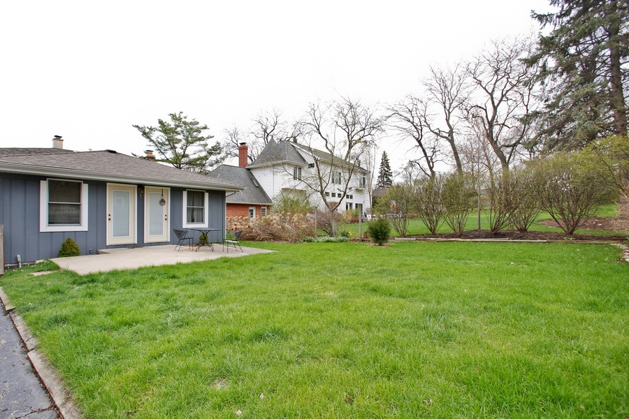 Real Estate Photography - 312 Spring Road, Glen Ellyn, IL, 60137 - Rear View
