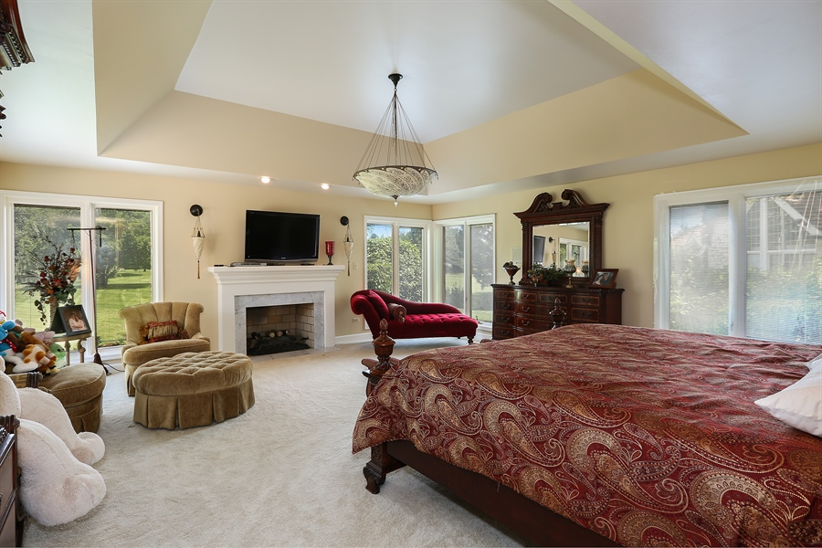 Real Estate Photography - 1607 Midwest Club Parkway, Oak Brook, IL, 60523 - Master Bedroom
