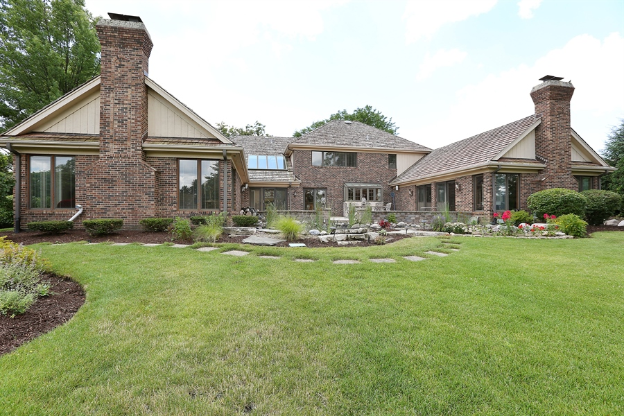 Real Estate Photography - 1607 Midwest Club Parkway, Oak Brook, IL, 60523 - Rear View