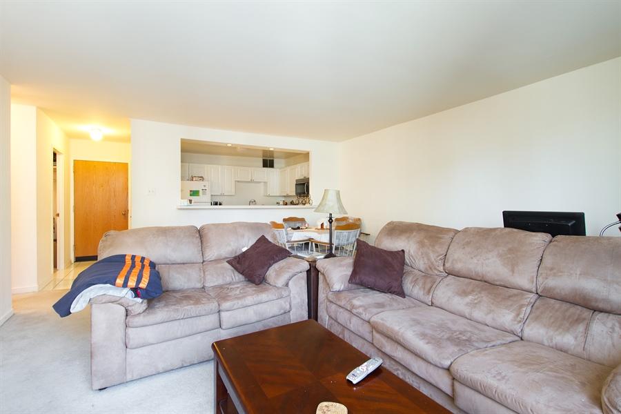 Real Estate Photography - 211 E Ohio, Unit #2308, Chicago, IL, 60654 - Living Room