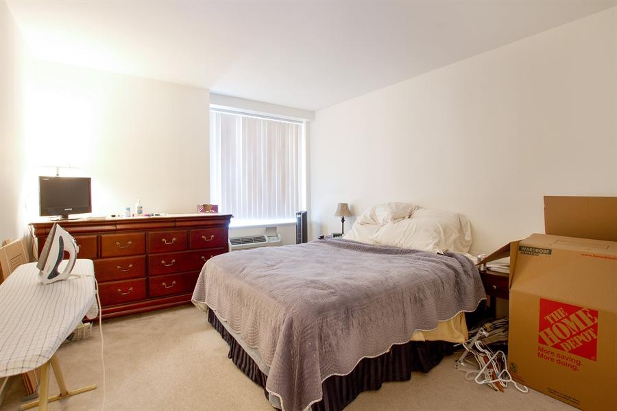 Real Estate Photography - 211 E Ohio, Unit #2308, Chicago, IL, 60654 - Master Bedroom