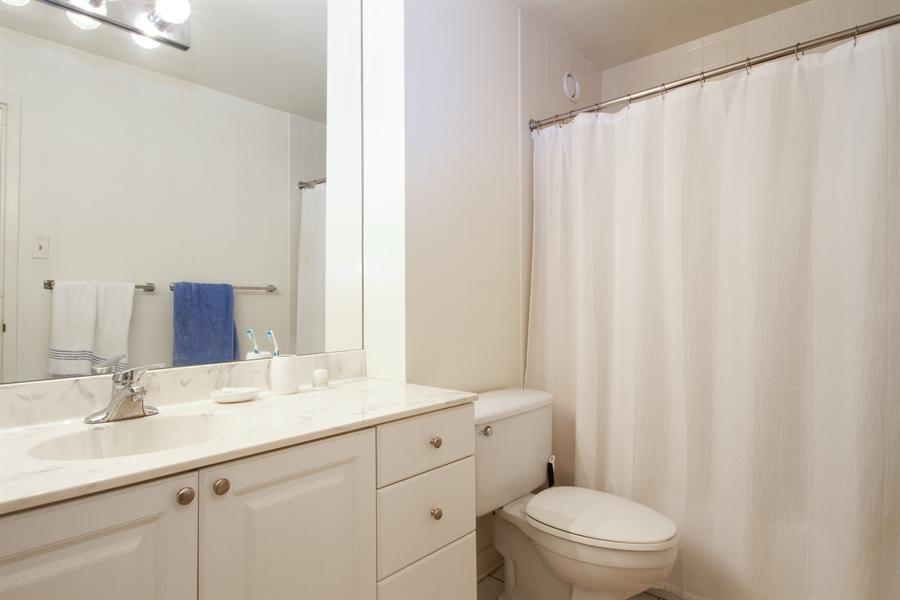 Real Estate Photography - 211 E Ohio, Unit #2308, Chicago, IL, 60654 - Bathroom