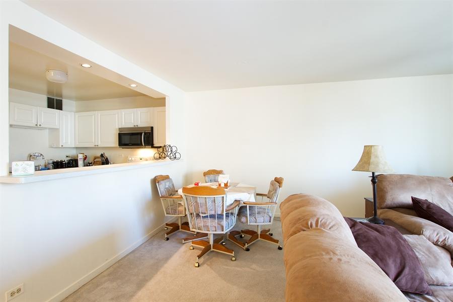 Real Estate Photography - 211 E Ohio, Unit #2308, Chicago, IL, 60654 - Kitchen / Dining Room