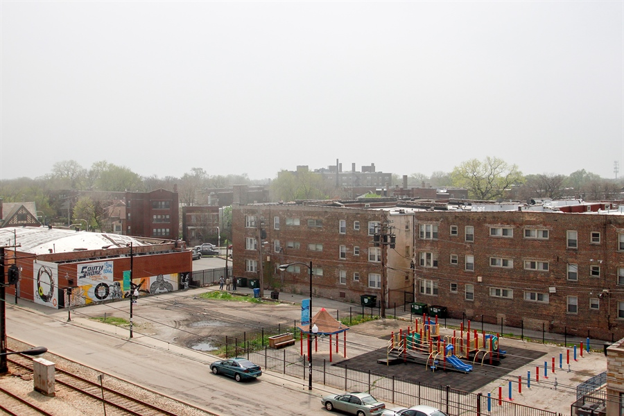 Real Estate Photography - 7227 S Exchange, Unit a, Chicago, IL, 60649 - View