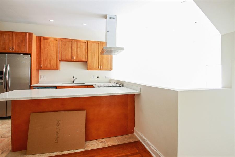 Real Estate Photography - 7227 S Exchange, Unit a, Chicago, IL, 60649 - Kitchen