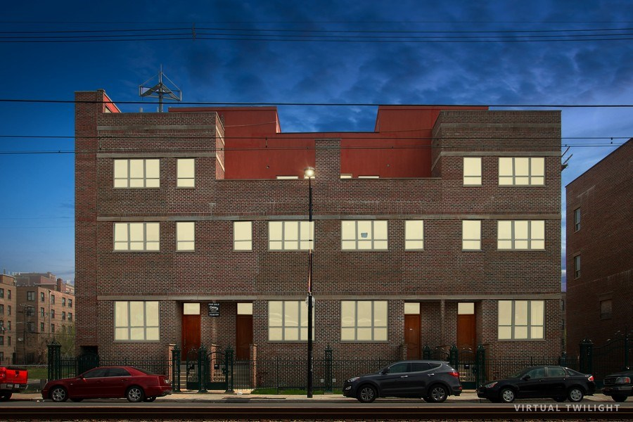 Real Estate Photography - 7227 S Exchange, Unit a, Chicago, IL, 60649 - Front View
