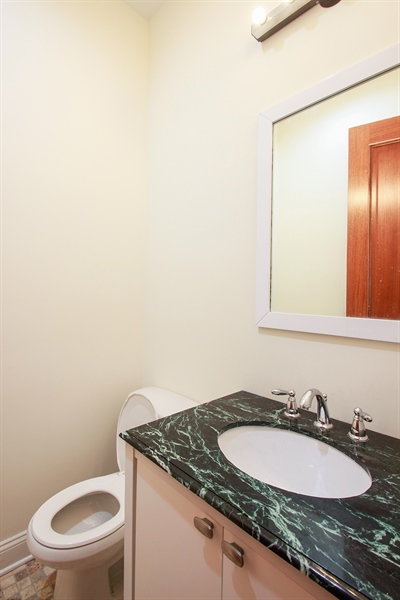 Real Estate Photography - 7227 S Exchange, Unit a, Chicago, IL, 60649 - Bathroom