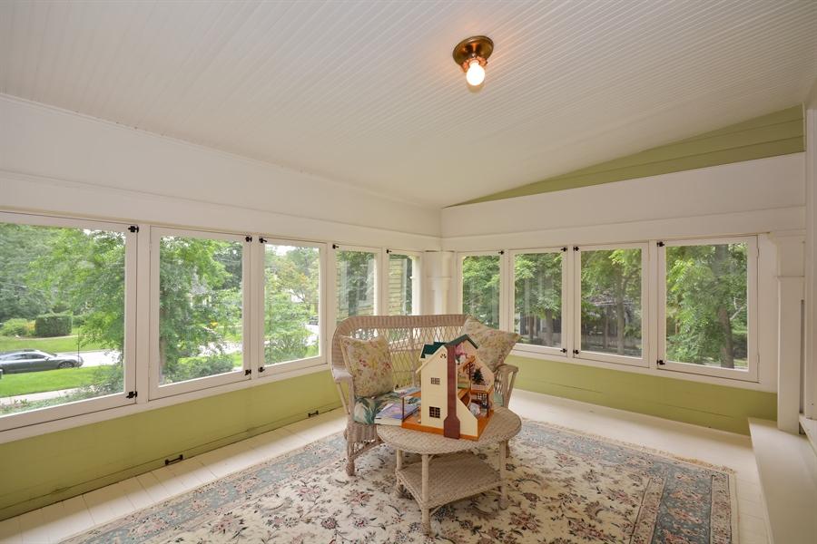 Real Estate Photography - 525 Fulton, Geneva, IL, 60134 - Terrace