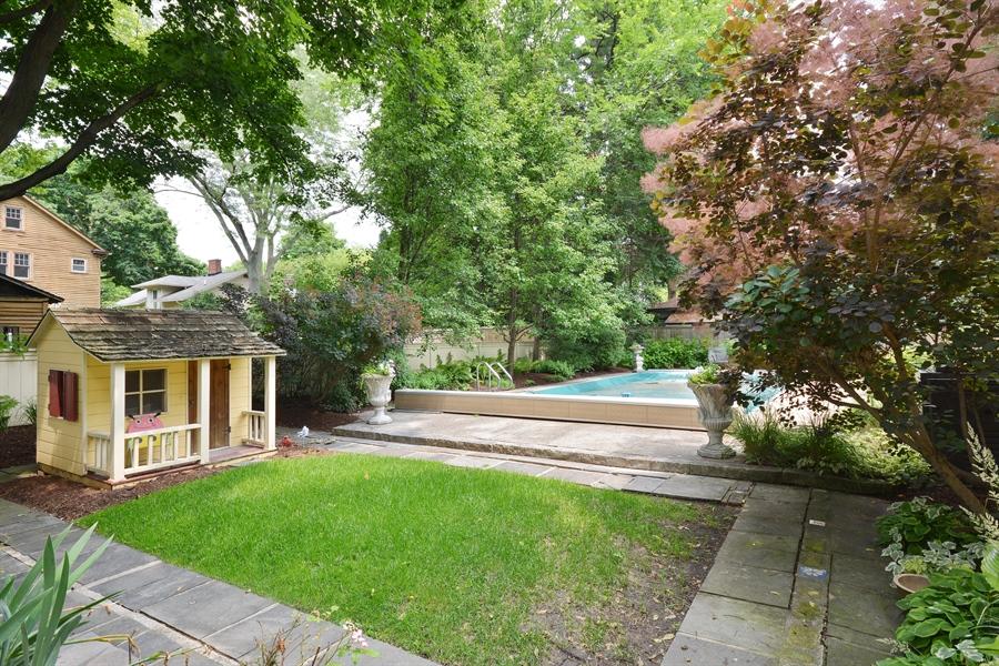 Real Estate Photography - 525 Fulton, Geneva, IL, 60134 - Back Yard