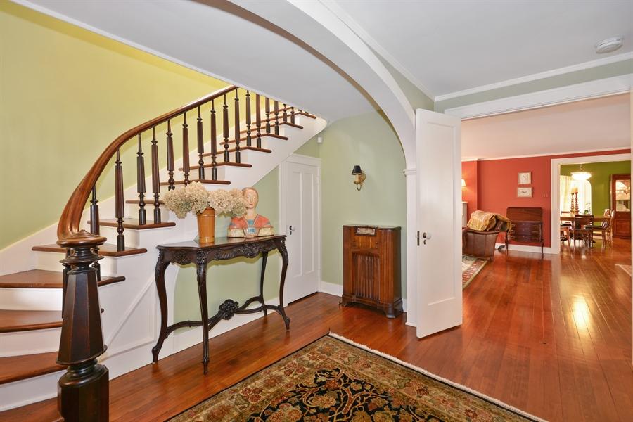 Real Estate Photography - 525 Fulton, Geneva, IL, 60134 - Foyer