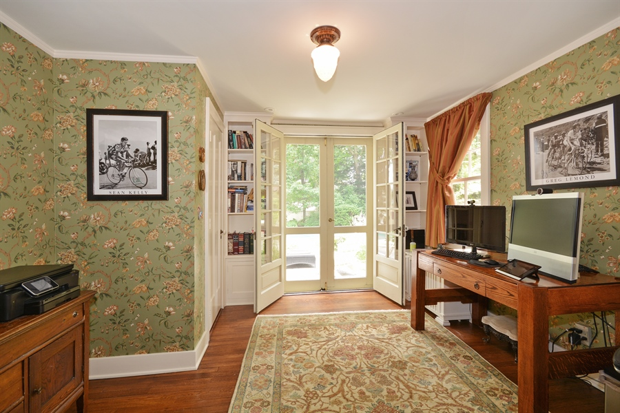Real Estate Photography - 525 Fulton, Geneva, IL, 60134 - Den