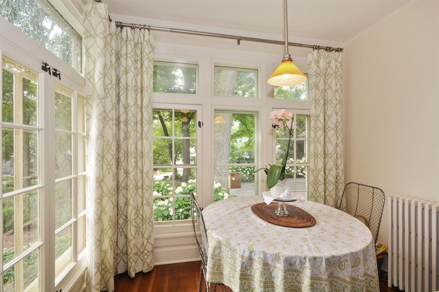 Real Estate Photography - 525 Fulton, Geneva, IL, 60134 - Breakfast Nook