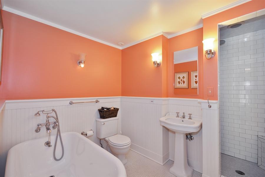 Real Estate Photography - 525 Fulton, Geneva, IL, 60134 - 2nd Bathroom