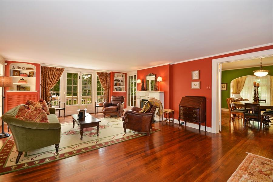 Real Estate Photography - 525 Fulton, Geneva, IL, 60134 - Living Room / Dining Room