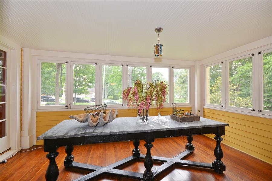 Real Estate Photography - 525 Fulton, Geneva, IL, 60134 - Sun Room