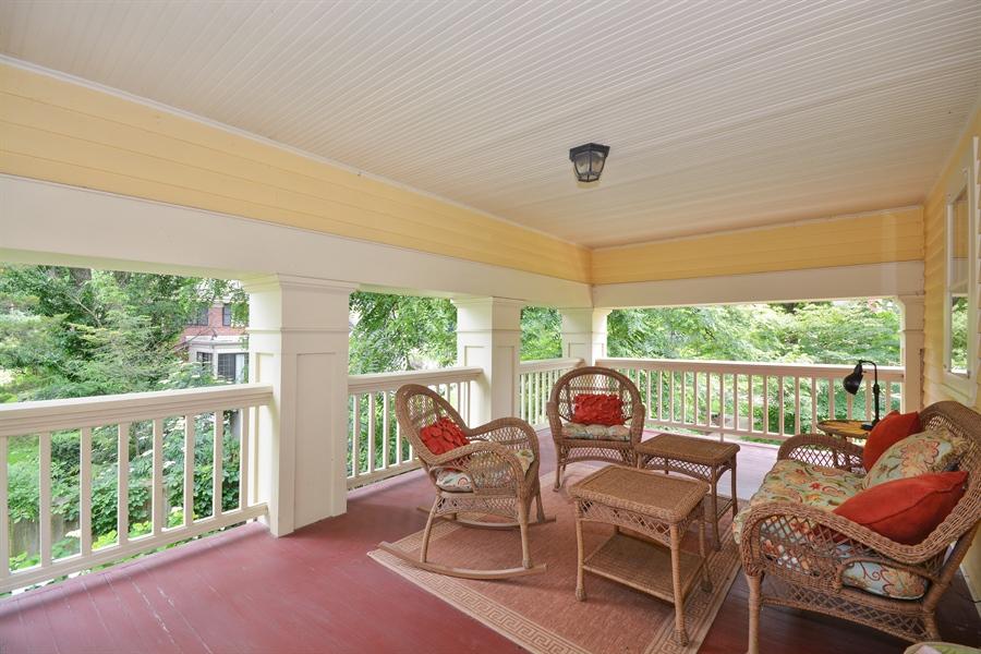 Real Estate Photography - 525 Fulton, Geneva, IL, 60134 - Balcony