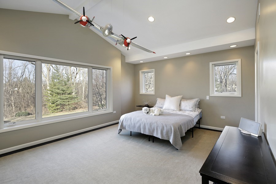 Real Estate Photography - 1780 Happ Rd, Northbrook, IL, 60062 - Bedroom