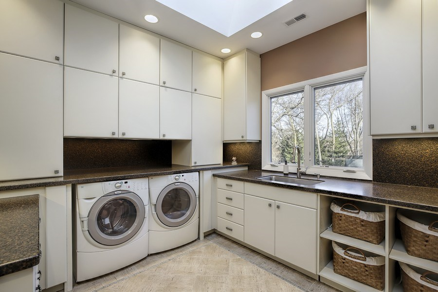 Real Estate Photography - 1780 Happ Rd, Northbrook, IL, 60062 - Laundry Room-2nd floor
