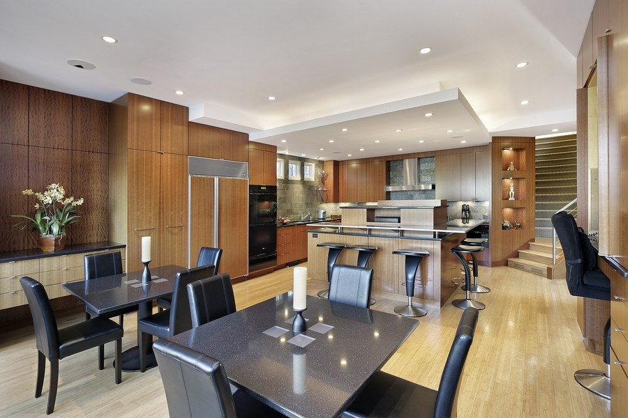 Real Estate Photography - 1780 Happ Rd, Northbrook, IL, 60062 - Eat-in Kitchen