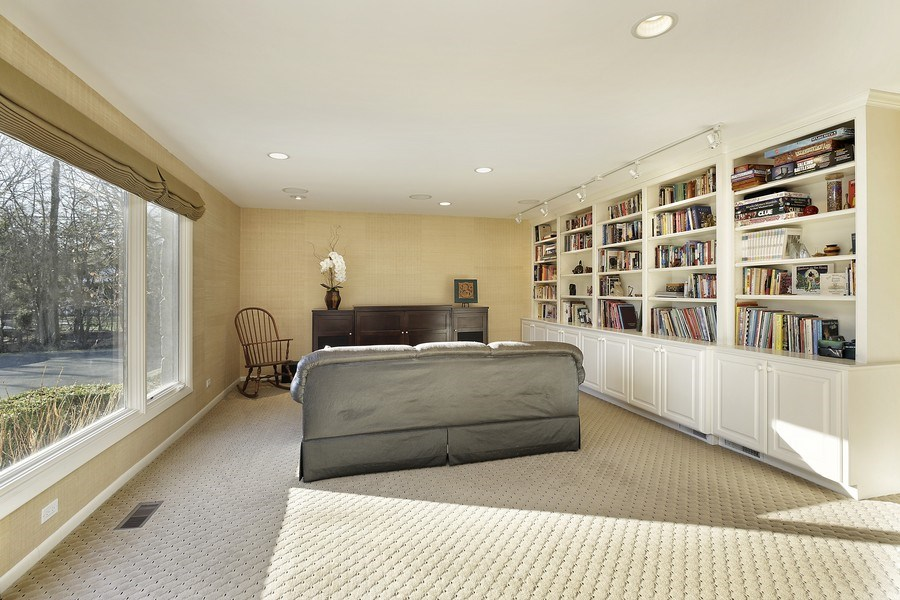 Real Estate Photography - 1780 Happ Rd, Northbrook, IL, 60062 - Office