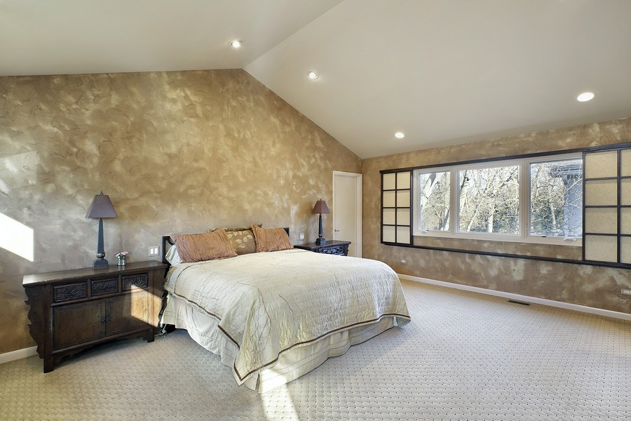 Real Estate Photography - 1780 Happ Rd, Northbrook, IL, 60062 - Master Bedroom