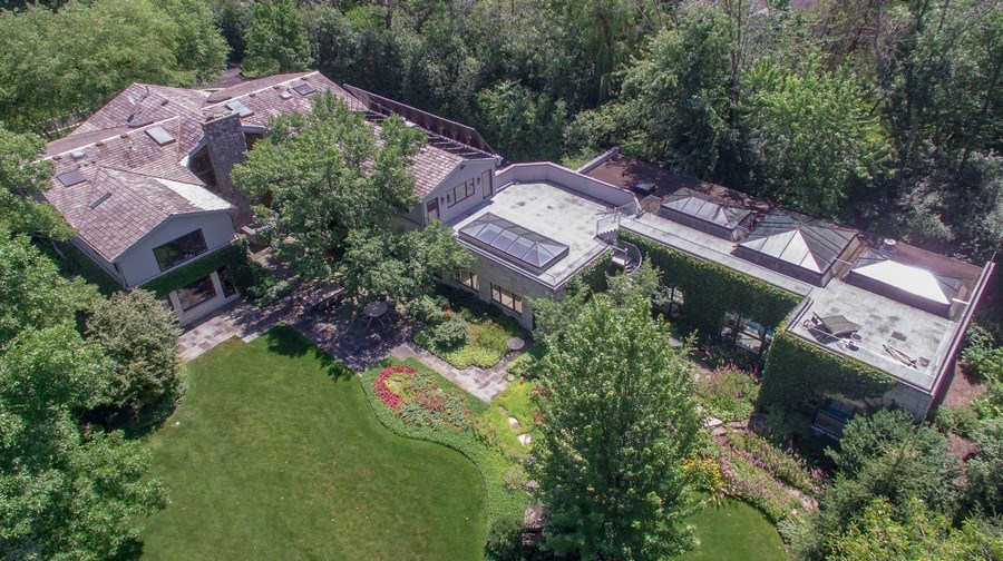 Real Estate Photography - 1780 Happ Rd, Northbrook, IL, 60062 - Aerial View
