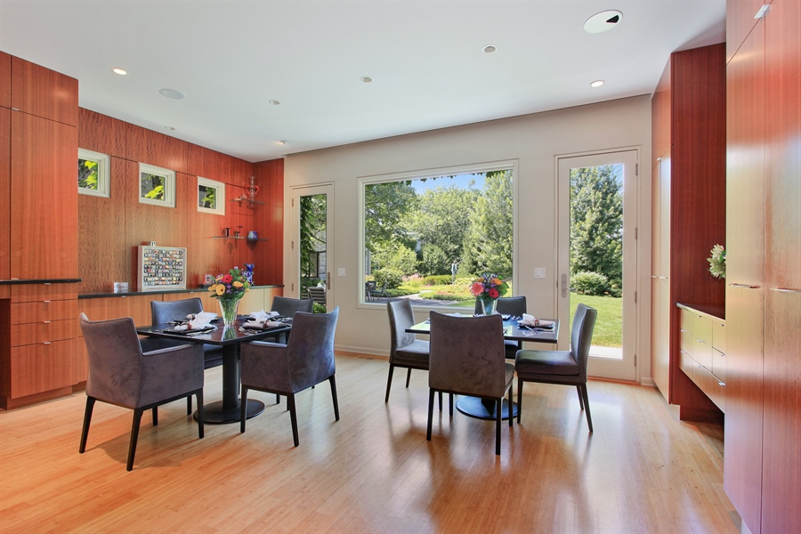 Real Estate Photography - 1780 Happ Rd, Northbrook, IL, 60062 - Breakfast Area