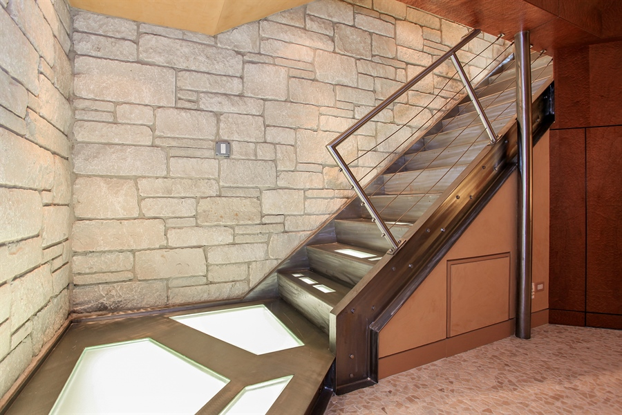 Real Estate Photography - 1780 Happ Rd, Northbrook, IL, 60062 - Staircase