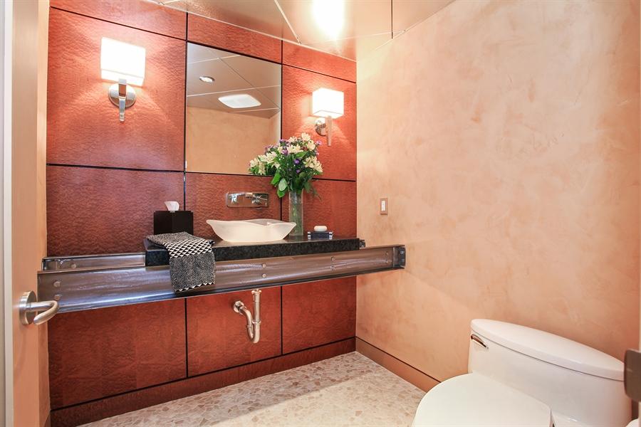 Real Estate Photography - 1780 Happ Rd, Northbrook, IL, 60062 - Half Bath