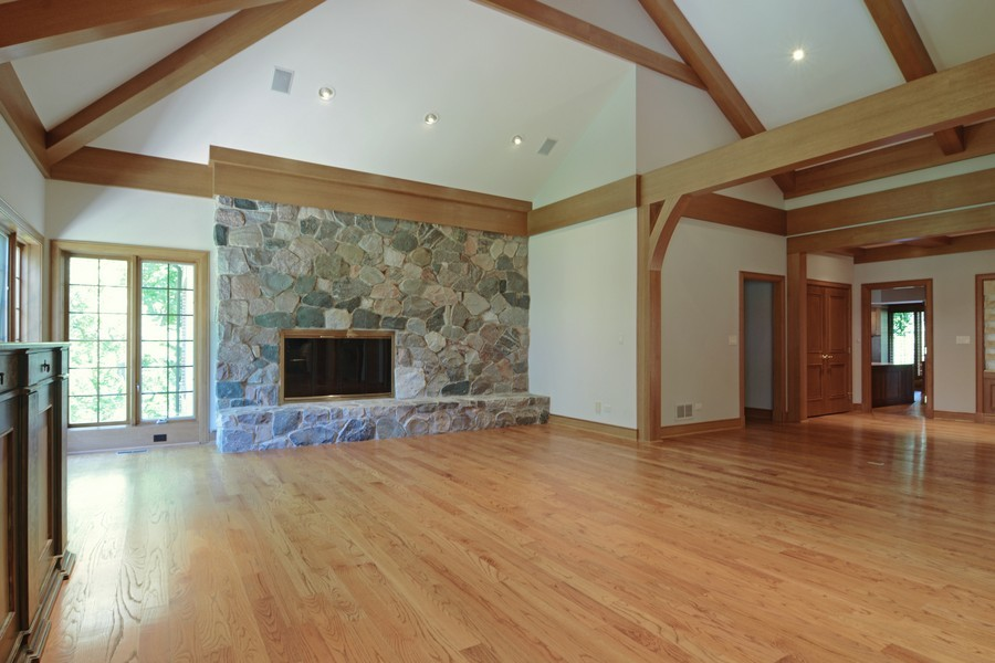 Real Estate Photography - 9 Goose Lake, Barrington Hills, IL, 60010 - Living Room