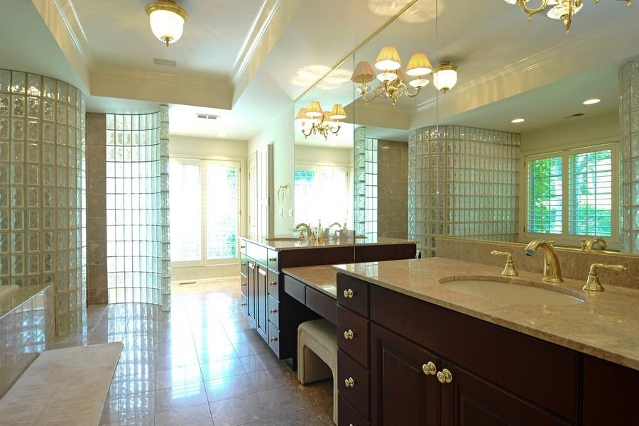 Real Estate Photography - 9 Goose Lake, Barrington Hills, IL, 60010 - Master Bathroom