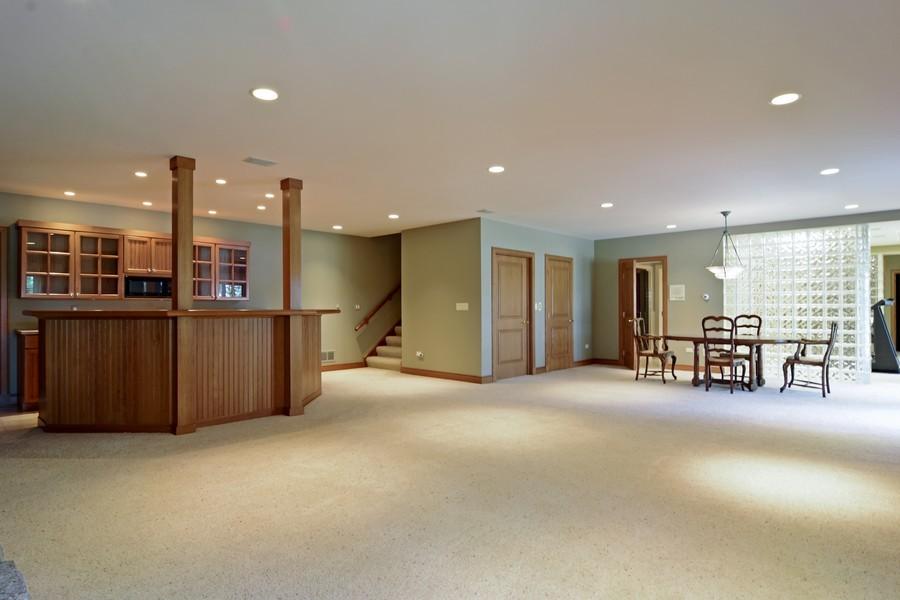 Real Estate Photography - 9 Goose Lake, Barrington Hills, IL, 60010 - Lower Level
