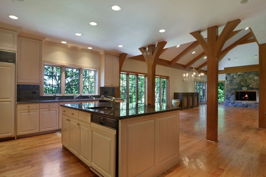 Real Estate Photography - 9 Goose Lake, Barrington Hills, IL, 60010 - Kitchen