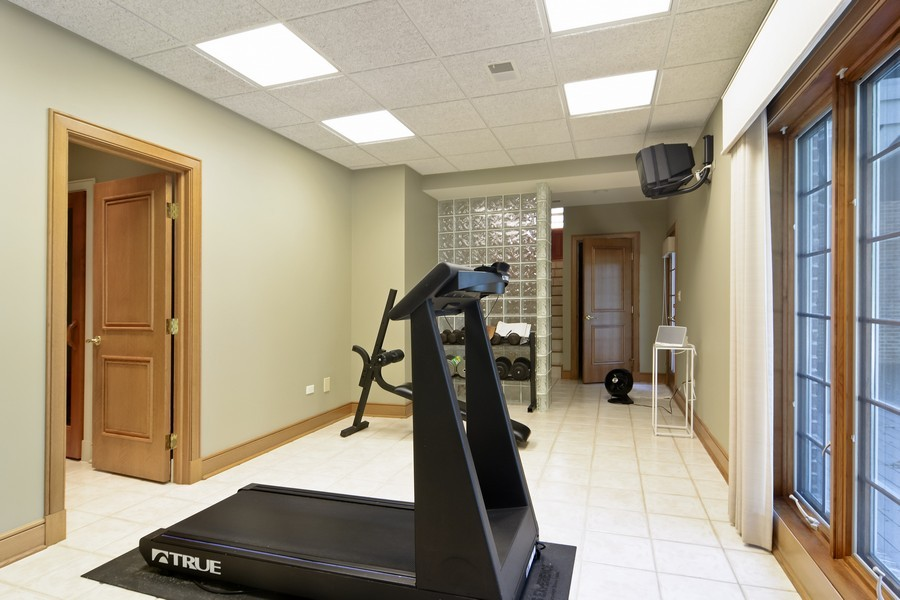 Real Estate Photography - 9 Goose Lake, Barrington Hills, IL, 60010 - Exercise Room