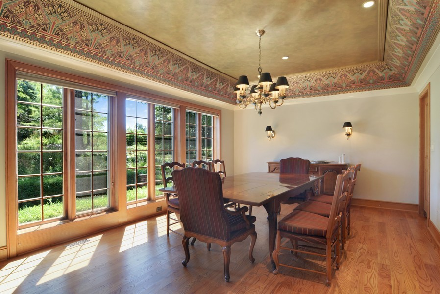 Real Estate Photography - 9 Goose Lake, Barrington Hills, IL, 60010 - Dining Room
