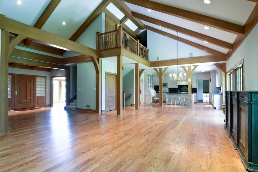 Real Estate Photography - 9 Goose Lake, Barrington Hills, IL, 60010 - Great Room